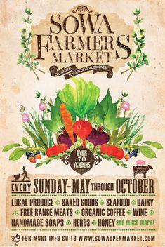 SoWa Farmers Market @ SoWa Sundays
