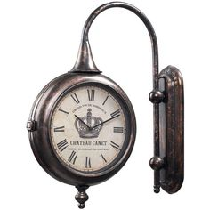 I pinned this Chateau Canet Wall Clock from the Sterling Home event at Joss and Main!