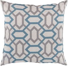 I love this pattern for a pillow! And the colors are neutral enough to fit in with my current decor :)