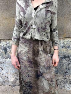 India Flint - wasteland How To Tie Dye, How To Dye Fabric, How To Wear, India Flint, Shibori Tie Dye, Creative Textiles, Indigo Dye, Textile Prints, John Muir