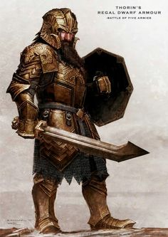 Thorin's regal armour