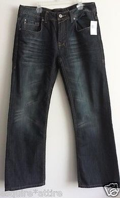 #Buffalo David Bitton men jeans size W32 L30 Relaxed fit NWT Worn Wash visit our ebay store at  http://stores.ebay.com/esquirestore