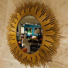 Salon Oval Mirror - Bernhardt Furniture   Luxe Home Philadelphia