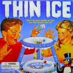Thin Ice! Omg I had this game! Loved it! Ha!