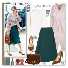 """""""Meghan Markle"""" by mery90 ❤ liked on Polyvore featuring Victoria Beckham, Jimmy Choo, Boohoo, Lemaire, Mulberry, GetTheLook, royals, CelebrityStyle, StreetChic and MeghanMarkle"""