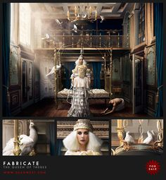 """Australian-born artist Dean West has a real knack for surrealist photography. He titled this image """"Queen of Thebes"""". Cinematic Photography, Conceptual Photography, Fine Art Photography, Photography Ideas, Fashion Photography, Ethereal Photography, Colour Photography, Photography Series, Fantasy Photography"""