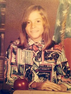 1976. My favorite shirt! the Bi-centennial wasn't lost on me!...hahahahaa...