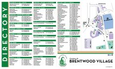Brentwood, California Chamber of Commerce Directory and Map #design #print