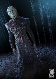 Hellraiser Pinhead by Nuttavut Baiphowongse   Horror   3D   CGSociety