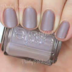 Essie Comfy In Cashmere | Cashmere Mattes Collection | Peachy Polish