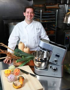 Chef Michael Tusk amazing working with you in developing recipes for Kenwood Cooking Chef.