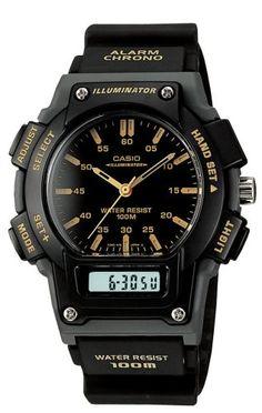 Casio Men's AQ150W-1EV Ana-Digi Chronograph Sport Watch