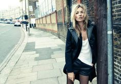 Kate Moss for Rag & Bone 2012, photographed by Craig McDean