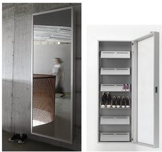 Wall Mounted Cabinet For Shoes