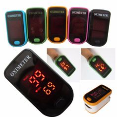 CE ISO Approved LED Display Fingertip Pulse Oximeter Blood Oxygen SpO2 saturation oximetro monitor oxymetre