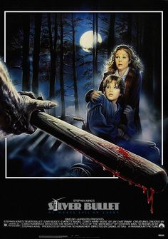 A Halloween tradition for me.  A werewolf terrorizes a small city where lives Marty Coslaw, - a paralytic boy - his uncle and his sister - the narrator of the story. (1985)