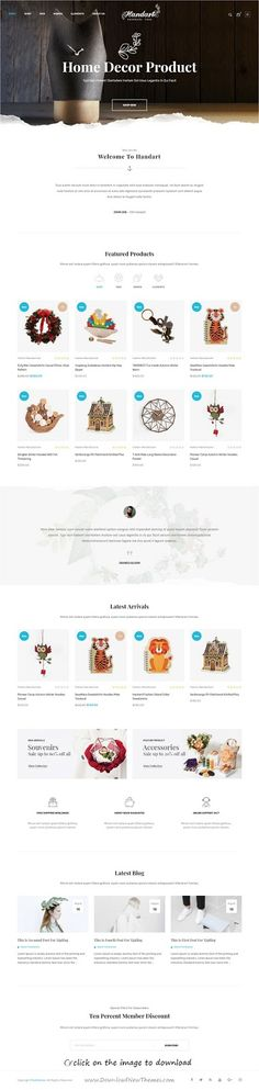 Top 10 Best New Premium eCommerce Themes: HandArt is clean and modern design responsive #Prestashop theme for stunning #handmade artists and artisans eCommerce #website. It has 4 different homepage layouts, mega menu and mobile menu, blog module, Google rich snippet support, custom banner slider and much more great features.