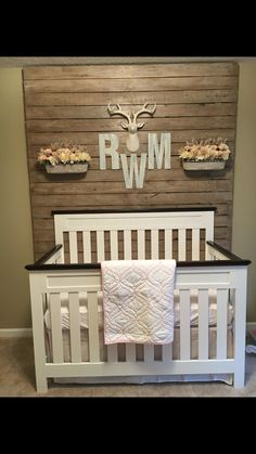 Rustic Nursery girl - beautiful