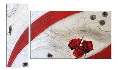 """Quadri astratti:""""La passione nel vento"""" dipinti materici in rilievo. quadri moderni adatti per arredare tutti gli ambienti, quadri astratti dal design unico"""