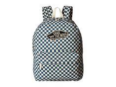 Vans Checkerboard Backpack Peach Skin - 6pm.com