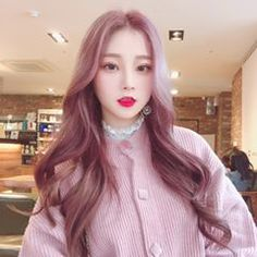 Fashion 2019 New Moda Style - fashion Asian Aesthetic, Aesthetic Girl, Ulzzang Korean Girl, Cute Korean Girl, Pink And Black Hair, Pink Hair, Korean Beauty, Asian Beauty, Mode Grunge