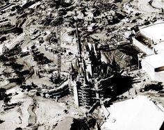 Construction of Disney Castle