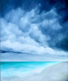 Original painting oil on canvas seascape by Stormscapestudio, $350.00