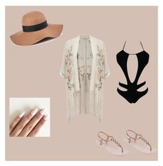 """#onepiece #contest"" by mimi-fashion-girl ❤ liked on Polyvore featuring Miss Selfridge, IPANEMA, Reiss and onepieceswimsuit"