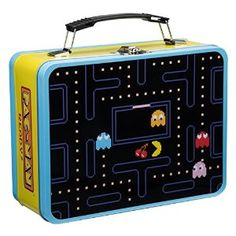 Amazon.com: Vandor 69070 PAC-MAN Large Tin Tote, Multicolored: Kitchen & Dining at http://amzn.to/1Pt3ti3