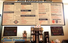 Personalize your #Print #Restaurant #Menu. Shop Custom Printing online now at U.S. http://www.njprintandweb.com/printing/print-restaurant-menu/