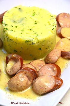 R'n'G Kitchen: Serdelki w sosie musztardowym