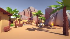 Elevate your workflow with the Lowpoly Style Desert Environment asset from CH Assets. Find this & other Landscapes options on the Unity Asset Store. Landscape Model, Landscape Fabric, Landscape Photos, Landscape Design, Summer Deserts, Desert Environment, Low Poly Games, Low Poly 3d Models, Mega Pack