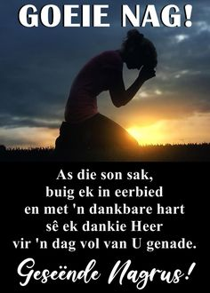 Goeie Nag, Afrikaans, Good Night, Lilac, Poems, Van, Cottage, Messages, Thoughts