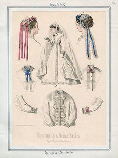 Journal des Demoiselles March 1867 LAPL