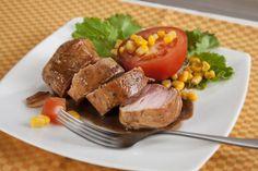 Solomillos de cerdo con cola. ¡Para los pequeños de la casa! Descubre la receta en http://www.gallinablanca.es/receta/solomillos-de-cerdo-con-cola/