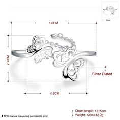 Aliexpress.com : Buy Two Butterfly couple gifts safe chains free Fashion Sex Animal styles 925 stamped silver plated Bangles Wholesale from Reliable gift card display stand suppliers on Rose Fashion Jewelry CO., LTD.