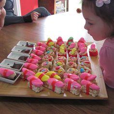 Peep Sushi... Easter dessert?