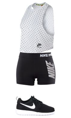 """""""Untitled #127"""" by agicenhour ❤ liked on Polyvore featuring NIKE"""