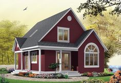 Country House Plan 65394