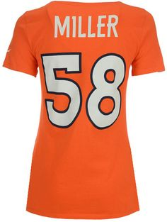 Nike Women Von Miller Denver Broncos Player Pride T-Shirt ccf5fb49c