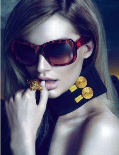 Golden Accessories From Versace