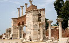 Basilica of St John, Ephesus, Turkey.