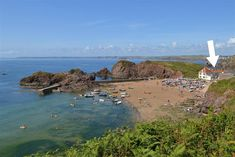 Hope Cove bay