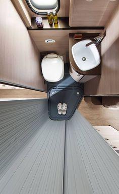 I quite like this fine-looking van life decor Kombi Trailer, Camper Caravan, Truck Camper, Camper Trailers, Van Life, Motorhome, Design Transport, Custom Camper Vans, Camper Bathroom