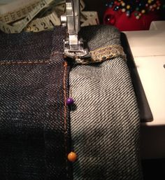 How to Shorten Your Jeans With Original Hem by Karen Kerr