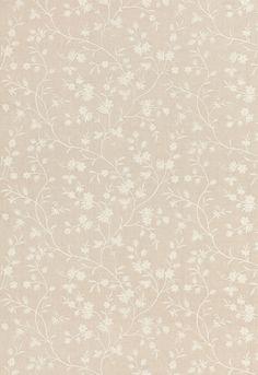 Wildflower Embroidery | 67190 in Linen | Schumacher Fabric
