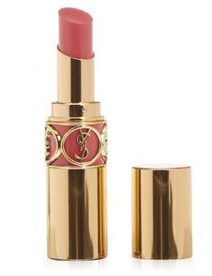 Yves Saint Laurent Rouge Volupte Silky Sensual Radiant Lipstick for Women, Opera Rose, 0.1 Ounce