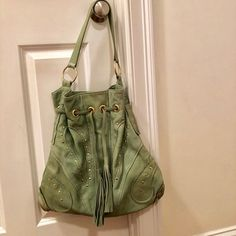 BULGA Handbags - Gorgeous Bulga leather bag - excellent condition Leather  Bag 3d6d5522220f2