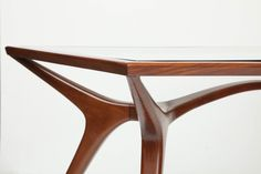 Sculptural Dining Table by Giuseppe Scapinelli image 5