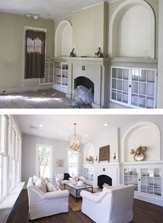 House renovation before and after fixer upper joanna gaines best ideas - Before After DIY Interior Paint Colors, Interior Design Tips, Interior Painting, Purple Interior, Painting Doors, Painting Tips, Painting Techniques, Design Ideas, Living Room Remodel